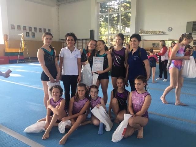 0d50834764d3 Zlatá medaila pre Gymnastický klub Elán Prievidza